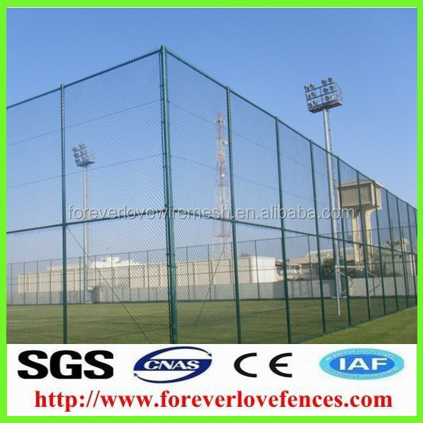 Top-selling hot dip galvanized iron chain link fence/fences
