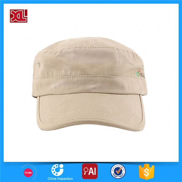New and hot trendy style flat top navy military army hats manufacturer sale