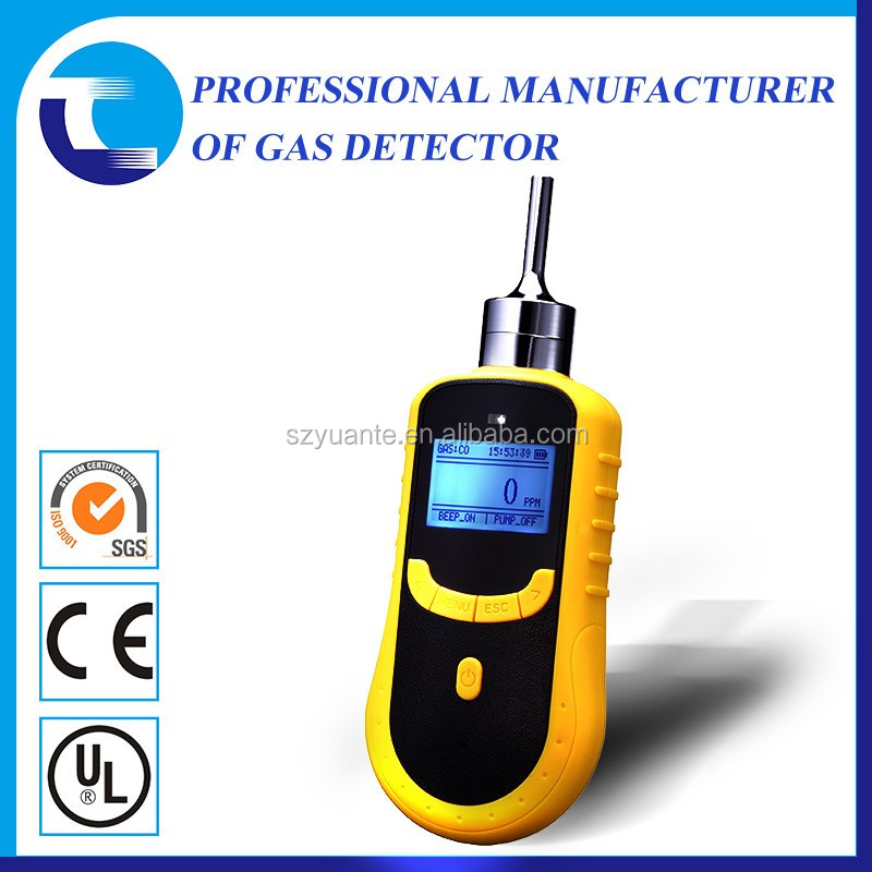 Portable PID volatile organic compounds VOC gas detection in cars