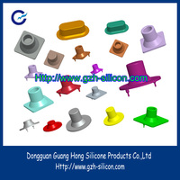Factory customized conductive silicone on/off buttons