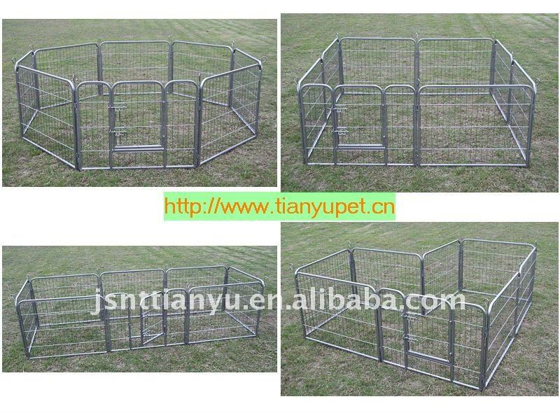 Pet Courtyard Kennel Exercise Pen