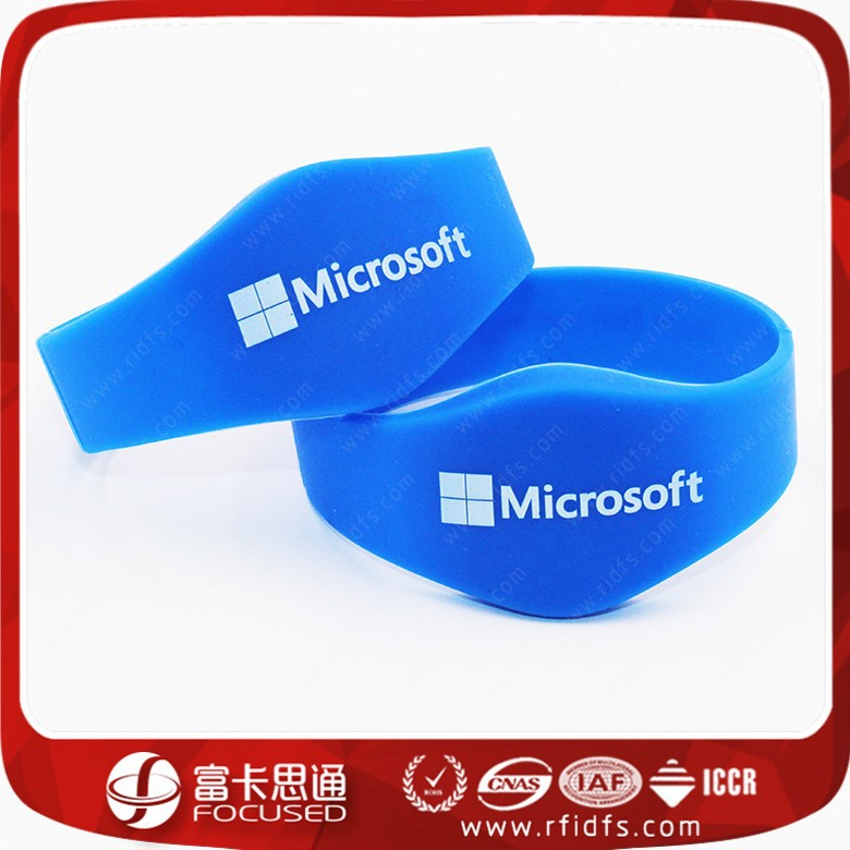 GYM/Swimming RFID Silicon Wristband with logo