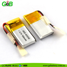 Rechargeable Lithium Polymer Battery 401230 100mah 3.7v lipo battery for MP3 MP4