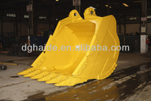 10m3 big hardox rock bucket