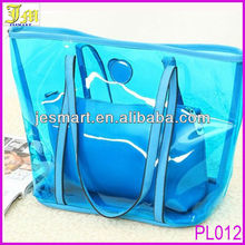 Wholesale Cheap Ladies Jelly Transparent Handbag Organizer Shoulder Bag