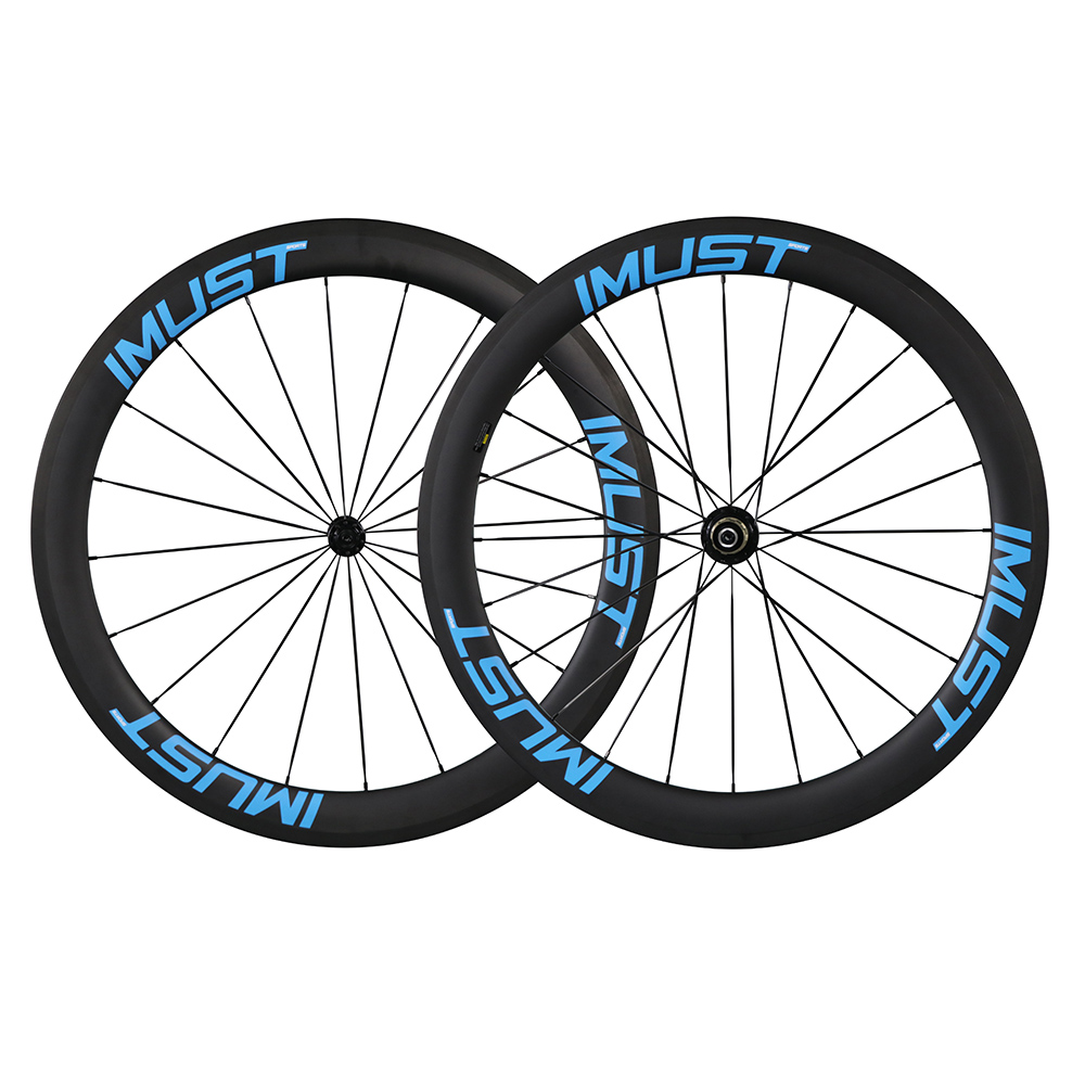Carbon road wheel 56mm Clincher full carbon road bicycle wheel clincher