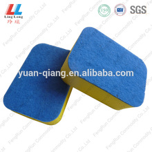 stainless steel scourer wire dish brush cleaning pad polyester sponge