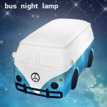 Best Kid Room Decorative Safe Bus Night Light For Baby