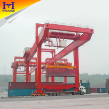 Rail type container travel gantry crane for sale