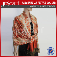 the poular ladies red shawls for evening dress pashmina