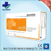 Rapid Medical Diagnostic Myoglobin true test strips (Colloidal Gold)