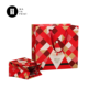 Christmas Slogan design Satin ribbon handle talking gift bag