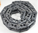 Wirtgen asphalt road milling machine track chain assembly