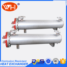 high efficiency tube in shell heat exchanger ,water cooler stainless steel,water chiller shell and tube evaporator