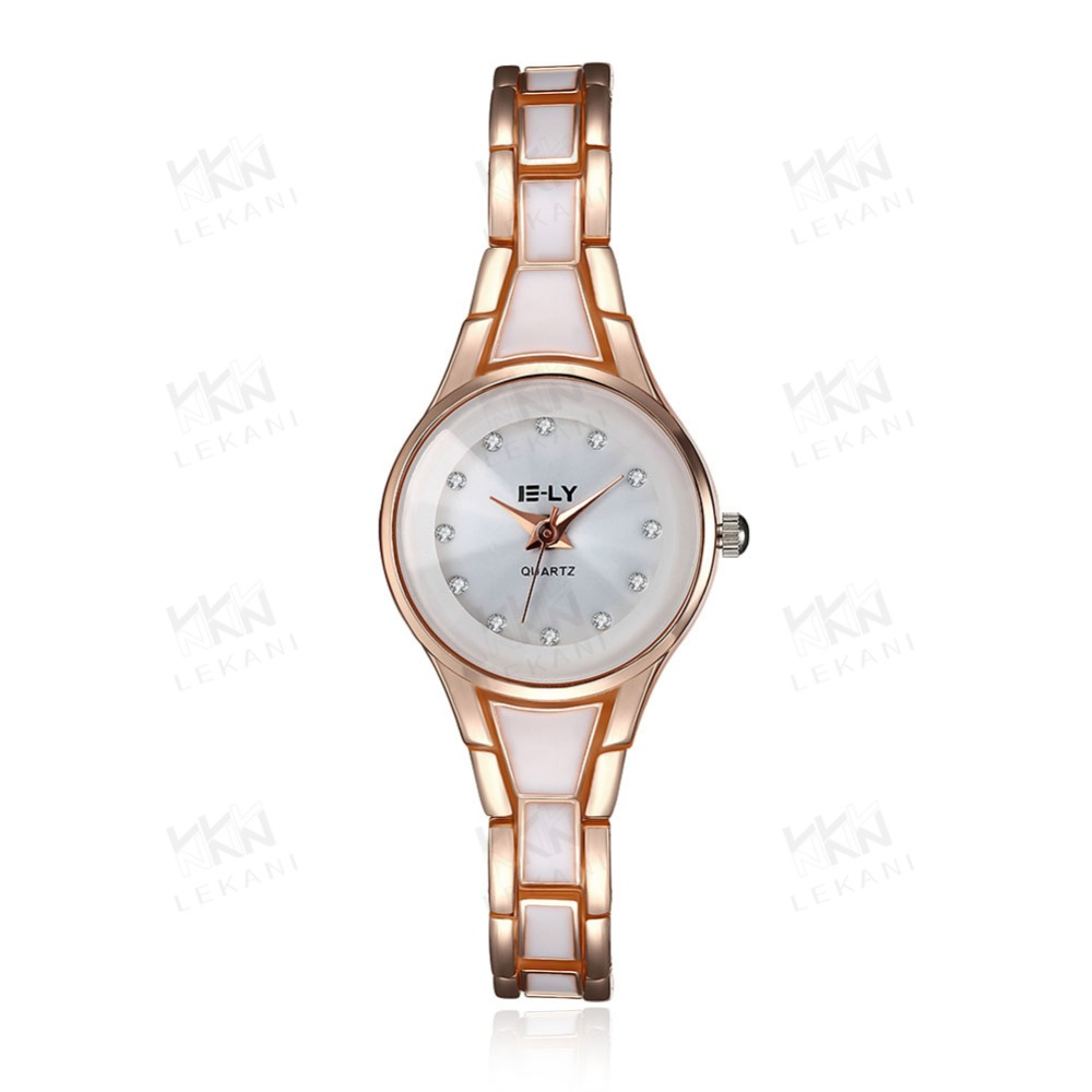 Fashion vogue watches in good quality, rose gold band watch