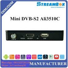 mini s2 decodificadore full hd Free to Air ali3510c sunplus 1506g satellite tv receiver
