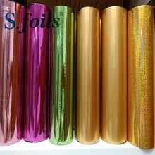 Hot stamping foil gold color for paper and plastics