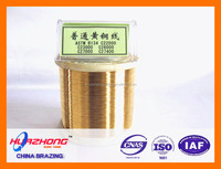 Cu,Zn,Si brass welding alloy with quality assurance