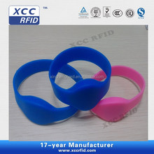 Waterproof Silicone Ntag213/Ntag216 NFC Bracelet/Wristbands
