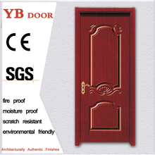 45mm thickness qatar flush interior rounded china cheap wooden pvc door sale