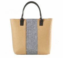 Best selling 2017 women felt tote bags handbags fro ladies shopping bags felt