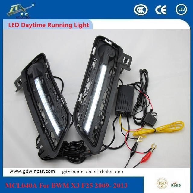 Wholesale Daytime Running Light Drl Car Fog Day Driving Lamp Light For Bmw X3 F25 2009 - 2013