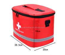 First aid bags emergency kit with triangle and car emergency tools