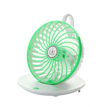 90 degree Rotation cooling desk usb mini fan with Portable Table Quiet Fan for Home Office Dormitory Bedroom, Green