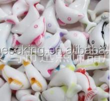 plastic dolphin beads fashion jewelry accessories animal dolphin beads DIY dolphin beads acrylic jewelry accessories