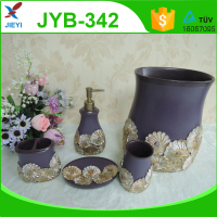 golden flower wholesale bath accessories for home decor