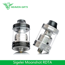 Good Quality Vaporizer E-cigarette DIY top fill RTA 2ml/ 3ml Sigelei Moonshot Atomizer