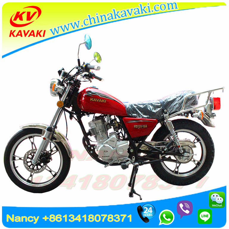 2017 Hot Sell Fashionable Design Powerful Motor Adult 2 Wheels Motorcycle Gasoline Motorbike