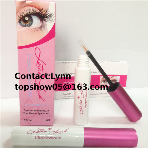 Lotus Lash eyelash-2016 New Profitable Cosmetic! OEM/Private Label lashes serum/rapid eye lash growth serum