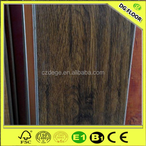 High Quality Walnut Laminate Wooden Flooring