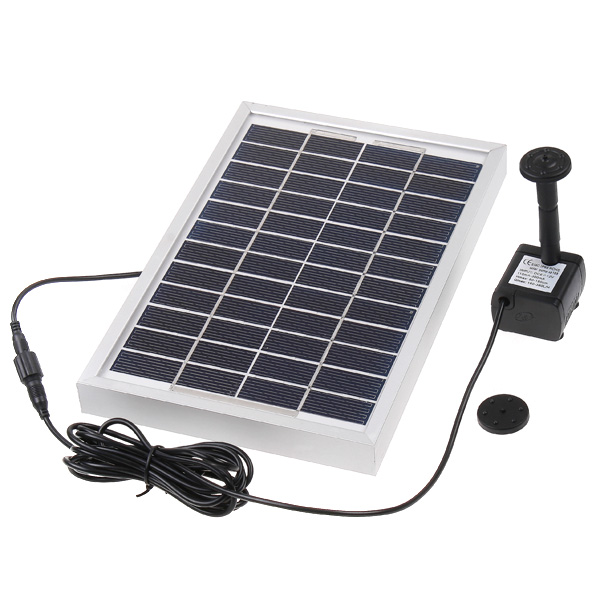 solar pump kit with free standing floating