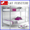 Double durable modern adult solid wood bunk bed kid bed bedroom furniture metal bunk bed