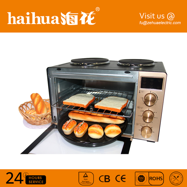 Best quality chicken cake metal portable electric oven