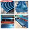 Galvanized Surface Treatment and AISI,ASTM,DIN,GB Standard color painted corrugated steel roofing sheets