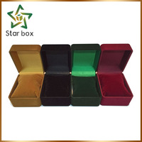 New design multi color velvet watch box with small pillow