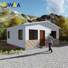 (WAS1015-45D)Affordable Steel Structure Residential Building / Mobile Homes/ Prefabricated Houses
