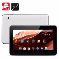 "Hot Sale 10"" Inch Tablet PC For Android 4.4 Kitkat QUAD CORE 8 GB DUAL With Camera WIFI P&P White"