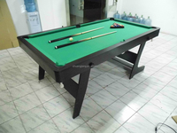 Folding pool table 6ft with Auto Ball return system