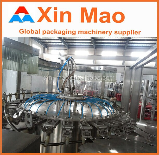 12000-15000 dxgf aerated/carbonated drinks making machine cabonated beverage can filling machine small carbonated drin