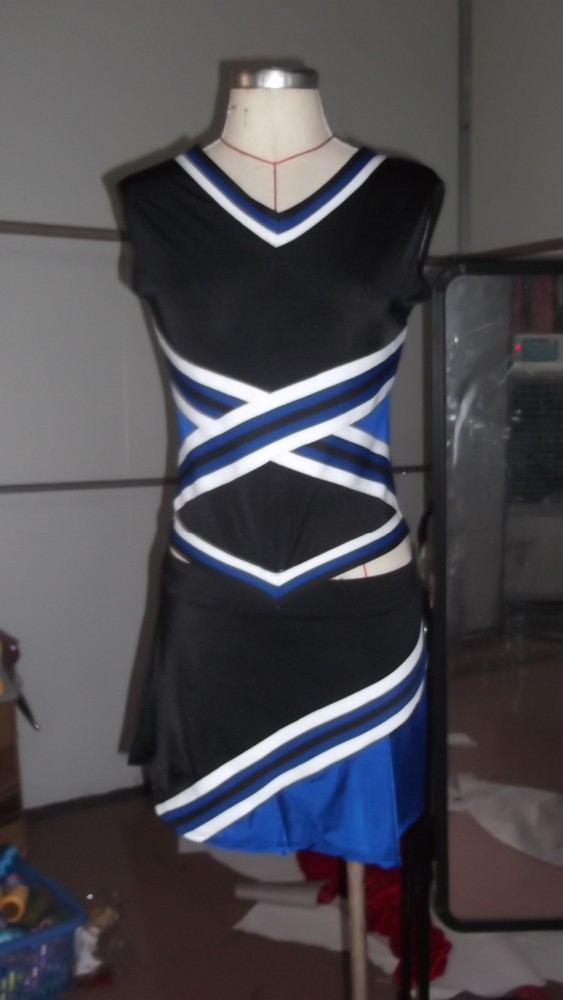 Ladies Sexy Cheerleader School Girls Fancy Costume Outfit