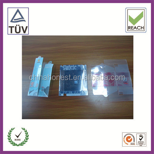 Custom Folding Plastic Recycling Box For Ipad 2 Case Packaging