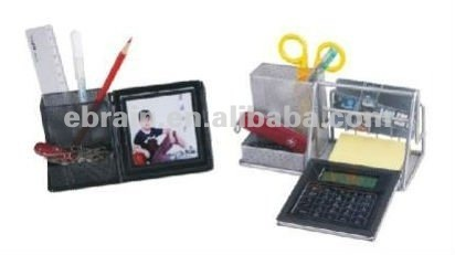 Penholder Calculator with Photo Frame