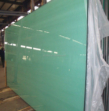Bulletproof White Tempered Safety Glass Doors And Window Of Building