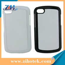 Blank sublimation cases for Blackberry Q10 with sublimation aluminum inserts