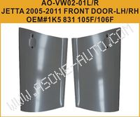 2005-2011 VolksWagen Jetta Exterior Car Door Skin,Driver Side,Steel