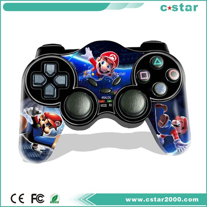 For Playstation2 wireless game controller with 2.4G receiver